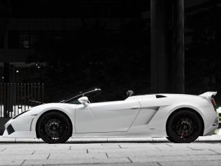 обои BF Performance Lamborghini Gallardo GT600 Spyder сбоку фото