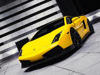 обои BF Performance Lamborghini Gallardo GT600 боком фото
