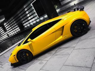 обои BF Performance Lamborghini Gallardo GT600 сбоку фото