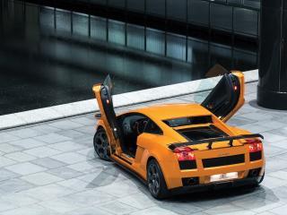 обои BF Performance Lamborghini Gallardo GT 540 открыты двери фото