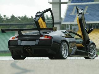 обои BF Performance Lamborghini Murcielago открыты двери фото
