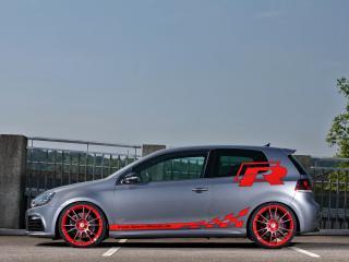 обои Sport-Wheels Volkswagen Golf R (Typ 1K) бок фото