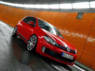 обои MTM Volkswagen Golf GTI R (Typ 1K) остановился фото