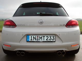обои MTM Volkswagen Scirocco R зад фото