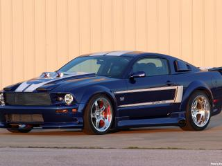 обои 2006 Ford Shadrach Mustang GT by Pure Power Motorsports бок фото