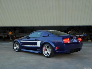 обои 2006 Ford Shadrach Mustang GT by Pure Power Motorsports зад фото