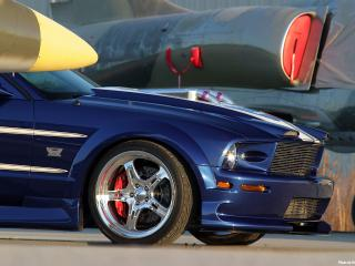 обои 2006 Ford Shadrach Mustang GT by Pure Power Motorsports колесо фото