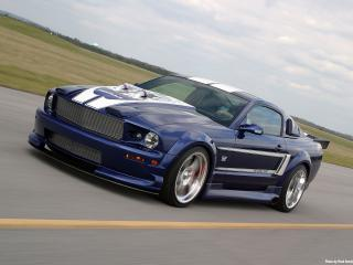 обои 2006 Ford Shadrach Mustang GT by Pure Power Motorsports мчиться фото