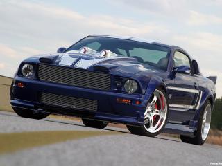 обои 2006 Ford Shadrach Mustang GT by Pure Power Motorsports перед фото