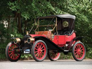 обои Hupmobile Model 20 Runabout 1909 бок фото