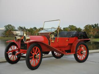 обои Hupmobile Model 20 Runabout 1909 сбоку фото