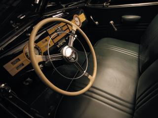 обои Graham Model 97 Convertible Coupe руль фото