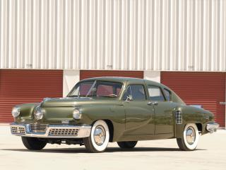обои Tucker Sedan 1948 перед фото