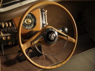 обои Tucker Sedan 1948 руль фото