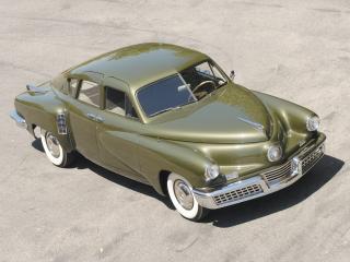 обои Tucker Sedan 1948 сверху фото