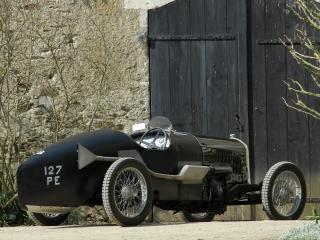 обои Salmson Grand Prix у ворот фото