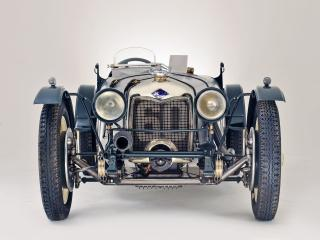 обои Riley Brooklands 1929 перед фото