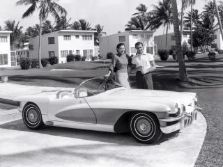 обои Cadillac LaSalle II Convertible Concept Car без крышиjpg фото