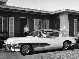 обои для рабочего стола: Cadillac LaSalle II Sedan Concept Car бок