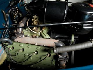 обои для рабочего стола: LaSalle Convertible Coupe (52) мотор