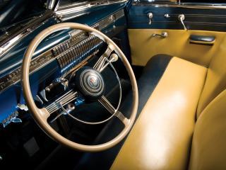 обои LaSalle Convertible Coupe (52) руль фото