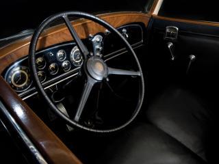 обои LaSalle Convertible Coupe руль фото