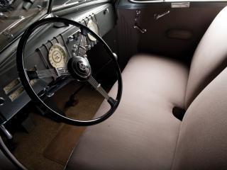 обои LaSalle Opera Coupe руль фото