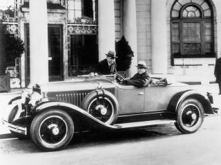обои LaSalle Roadster 1927 бок фото