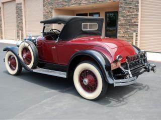 обои для рабочего стола: LaSalle Roadster 1927 боком