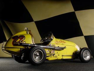 обои Kurtis Kraft Offenhauser Midget бок фото
