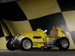 обои Kurtis Kraft Offenhauser Midget сбоку фото