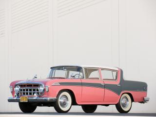 обои Hudson Rambler Custom 4-door Sedan бок фото