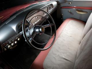 обои Hudson Rambler Custom 4-door Sedan руль фото