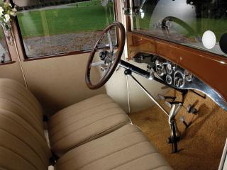 обои Hudson Super Six Coach руль фото