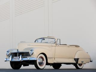 обои Hudson Super Six Convertible Coupe бок фото