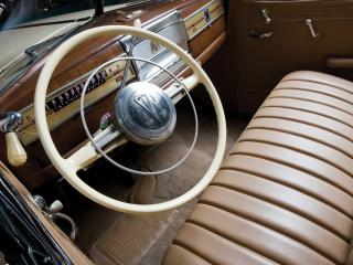 обои Hudson Super Six Convertible Coupe руль фото