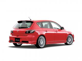обои DAMD Mazda Axela Sport бок фото