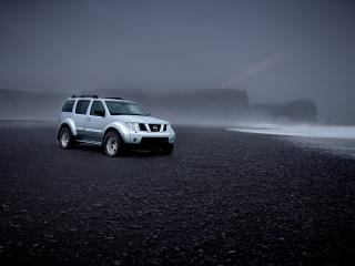 обои Arctic Trucks Nissan Pathfinder туман фото