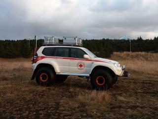 обои Arctic Trucks Toyota 120 Prado сбоку фото