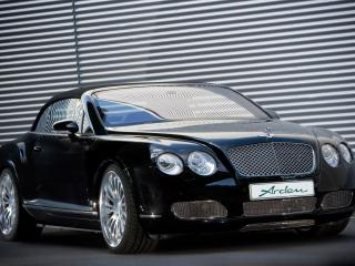 обои Arden Bentley Continental GTC черный спереди фото