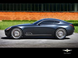 обои Carrozzeria Touring Superleggera A8GCS Berlinetta Touring бок фото