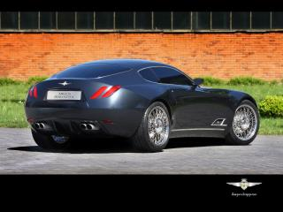 обои Carrozzeria Touring Superleggera A8GCS Berlinetta Touring зад фото