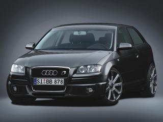 обои B&B Audi A3 перед фото
