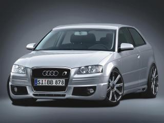 обои B&B Audi A3 передок фото