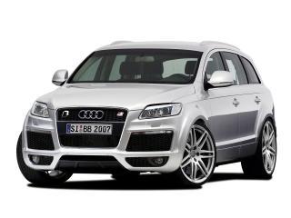 обои B&B Audi Q7 серебро фото