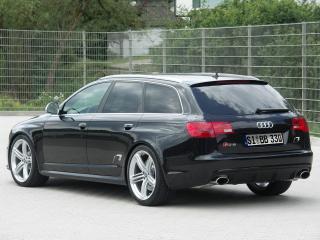 обои B&B Audi RS6 Avant бок фото