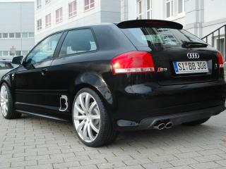 обои B&B Audi S3 зад фото