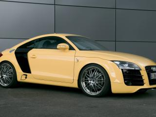 обои B&B Audi TTS бок фото