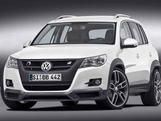 обои B&B VW Tiguan белый фото
