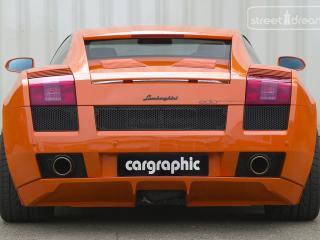 обои Cargraphic Lamborghini Gallardo зад фото